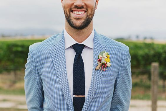 Boho Sky blue Suit