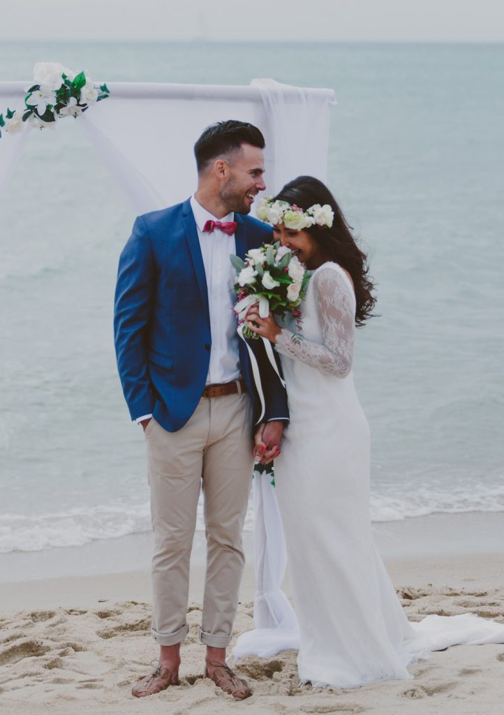 Beach Wedding Groom Attire Photo By Beck Rocchi