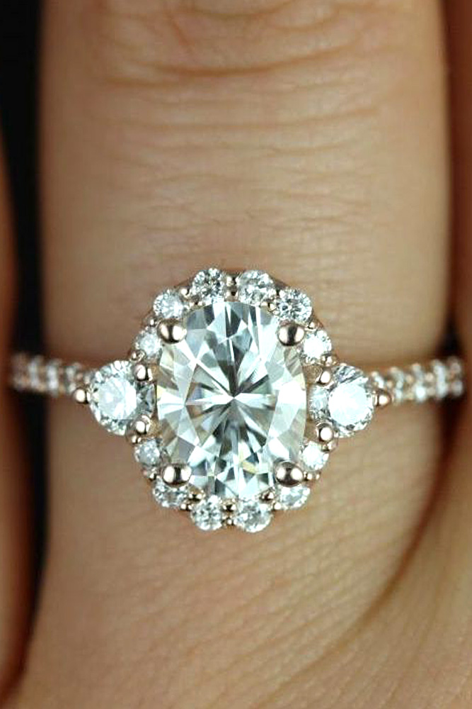 21 Gorgeous Engagement Rings She will Love - Mens Wedding Style