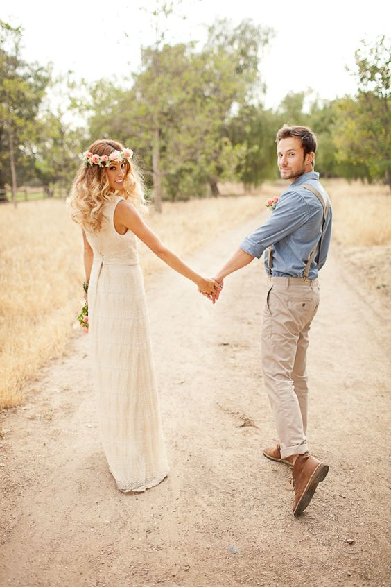 Boho Groom Wedding Styles 10