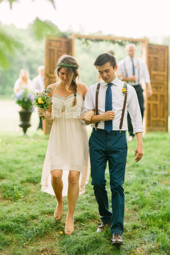 Boho Groom Wedding Styles 12