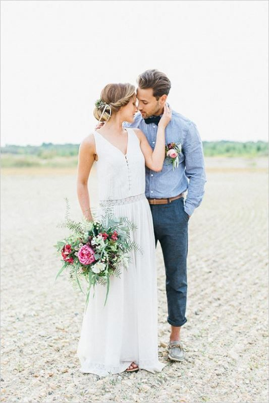 Boho Groom Wedding Styles 15