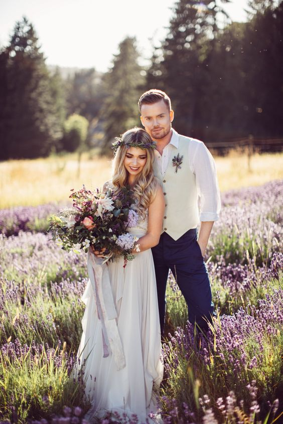 Boho Groom Wedding Styles 4