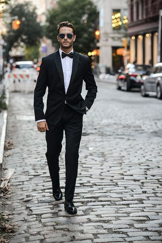 15 Black Suits for the Perfect Groom - Mens Wedding Style