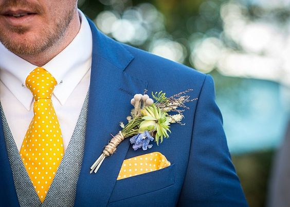 8 navy suit and gold tie combos mens wedding style