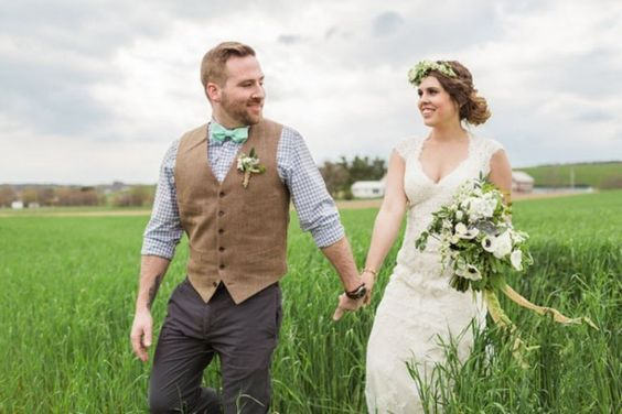 11 Very Stylish Groom Outfits for a Barn Wedding - Mens Wedding Style