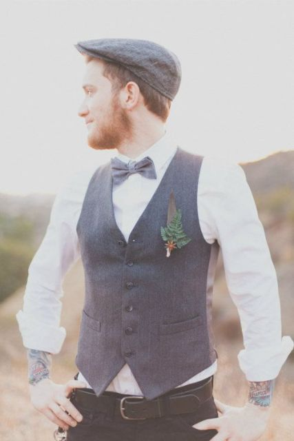 Wedding Hat Ideas For Your Groom 10