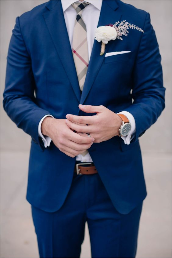 Navy Suit Wedding.15 Popular Navy Blue Groom Suits For Your Wedding Mens