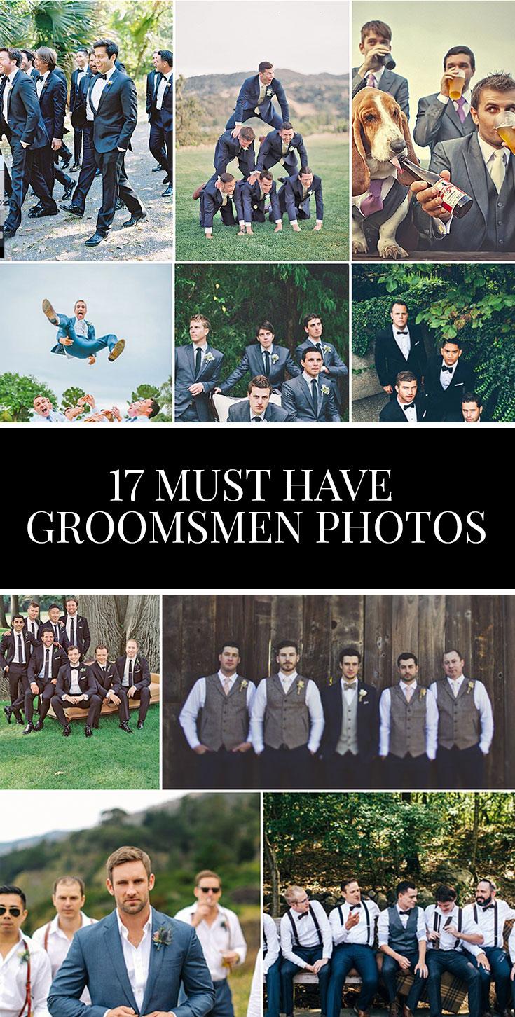 17 Must have Groomsmen Photos