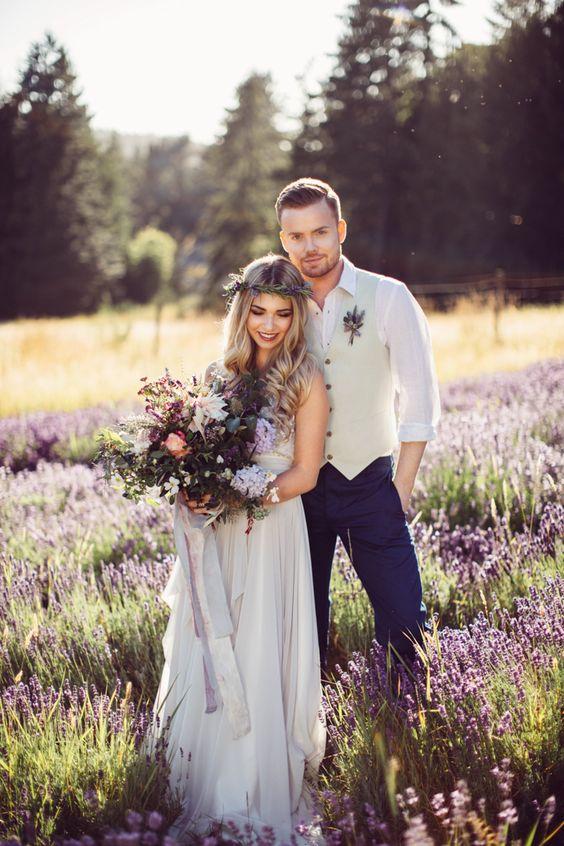 Boho Groom Wedding Styles 4