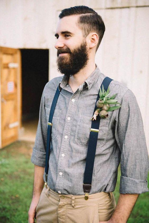 Boho Groom Wedding Styles 9