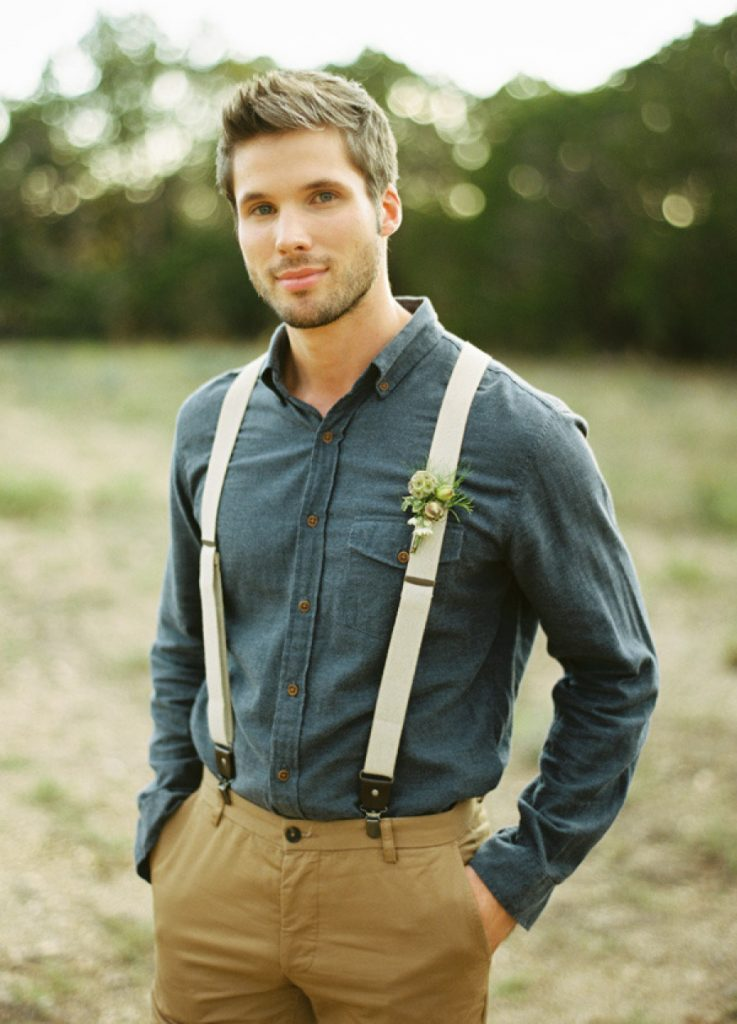 Groom Suspender Styles