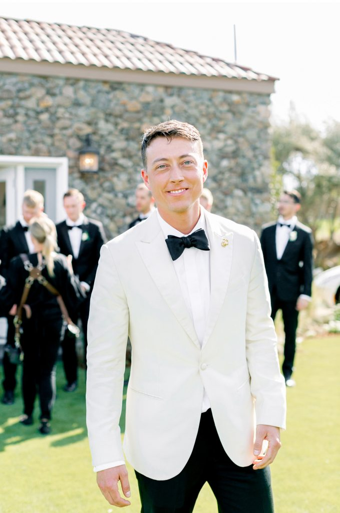 White Suit and Tux