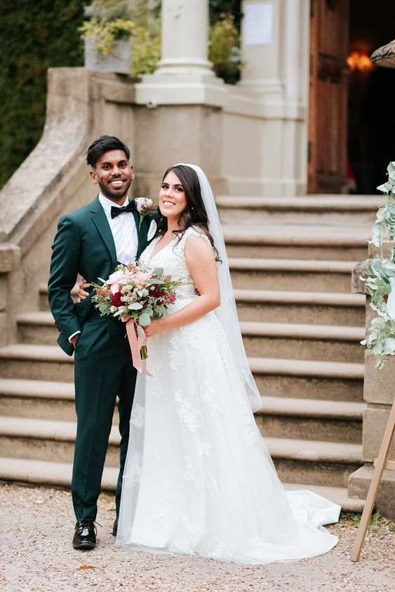 Forest Green Wedding Suit