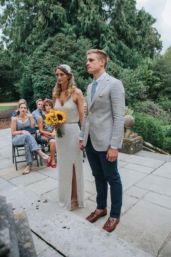 Chinos at Wedding