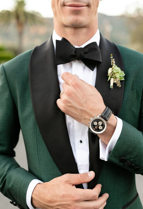 Green Tuxedo