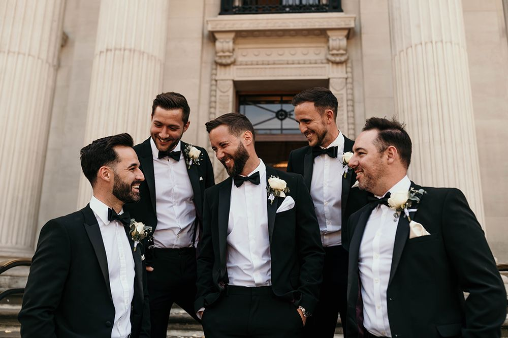 Wedding Tuxedo Style