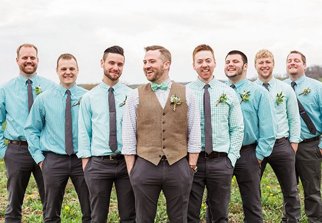 No Jacket Wedding