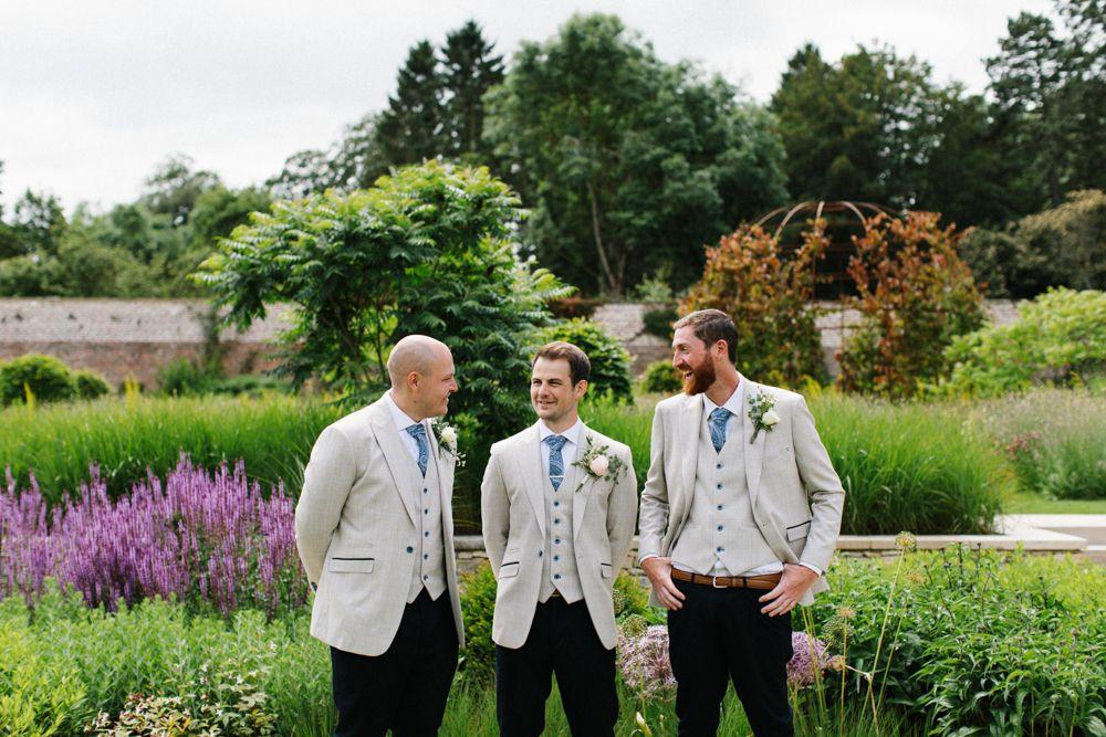 Tan Wedding Jackets for Groomsmen
